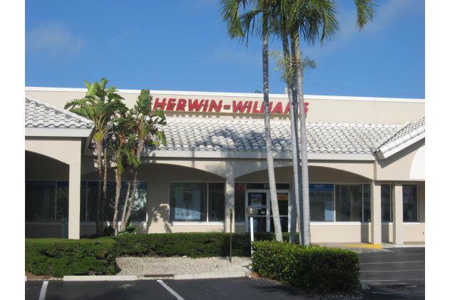 Sherwin Williams Strip Center