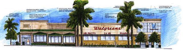 Walgreens & Starbucks