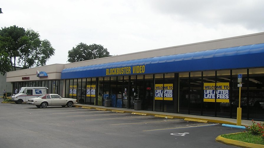Blockbuster Video Plaza