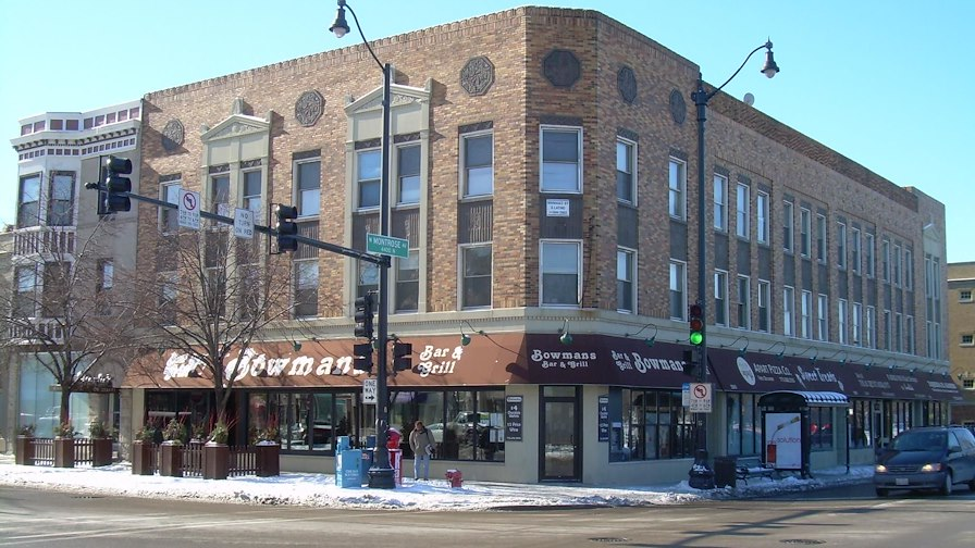Lincoln And Montrose Mixed Use + Bowman's Bar