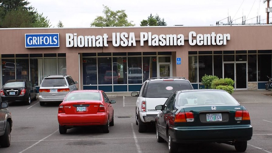 Grifols Biomat Plasma Center