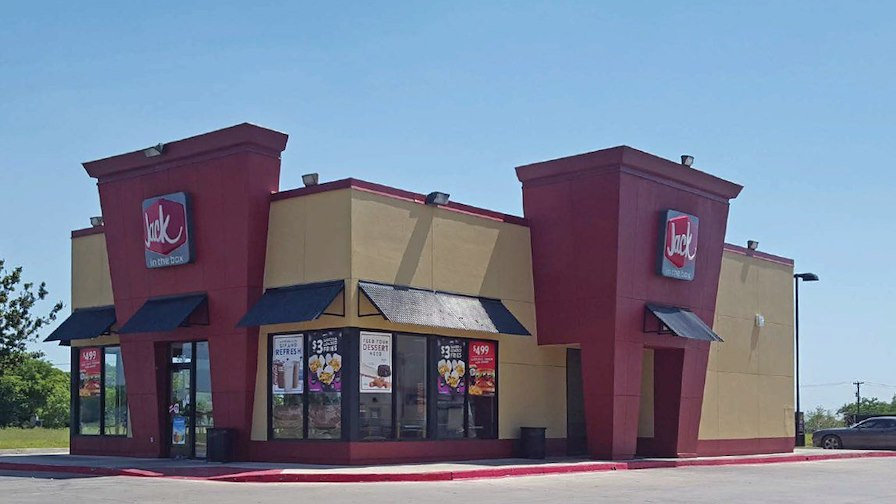 Jack in the Box w/C-Store & Gas Station