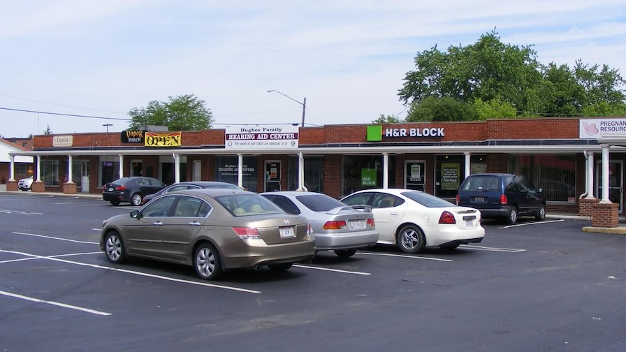 Troy Road Shopping Center