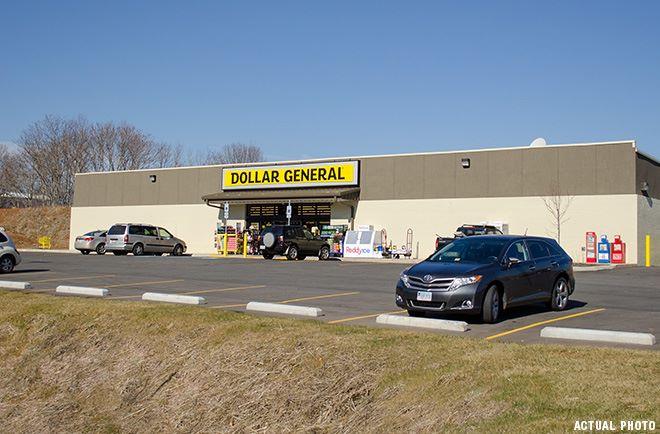 Brand New Dollar General (All Block & Stucco)