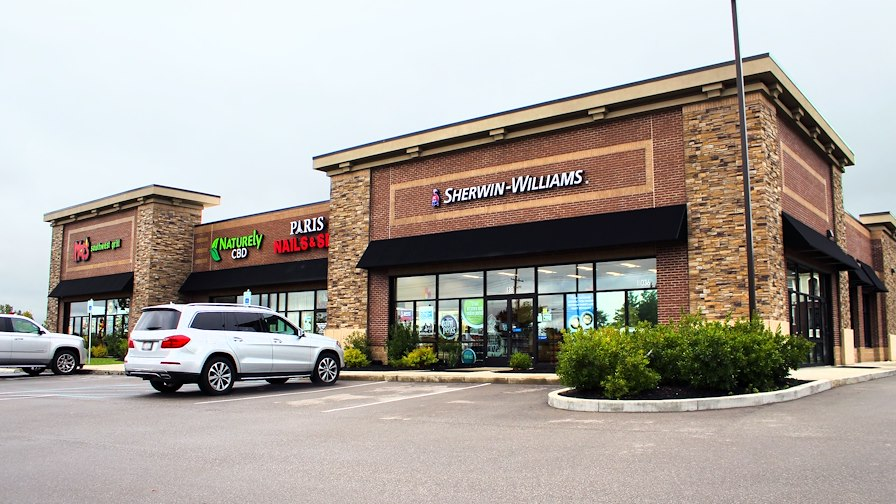 Sherwin Williams & Moe's Southwest Grill with 10%