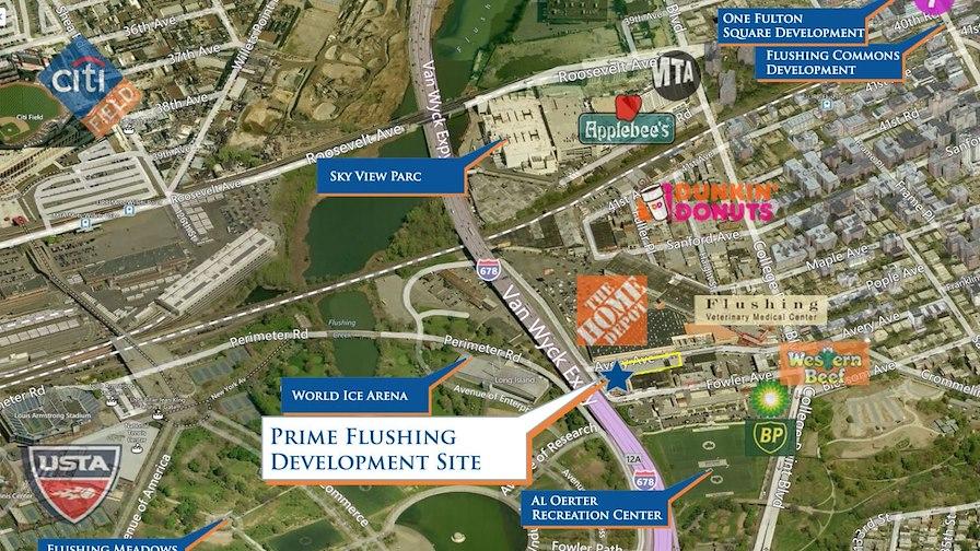 Prime Flushing Development Site