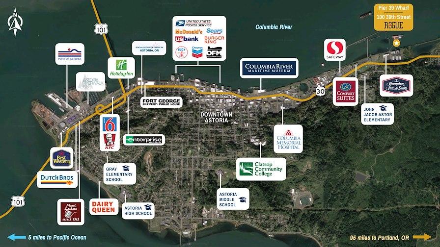Pier39- Astoria Income and Development Wharf