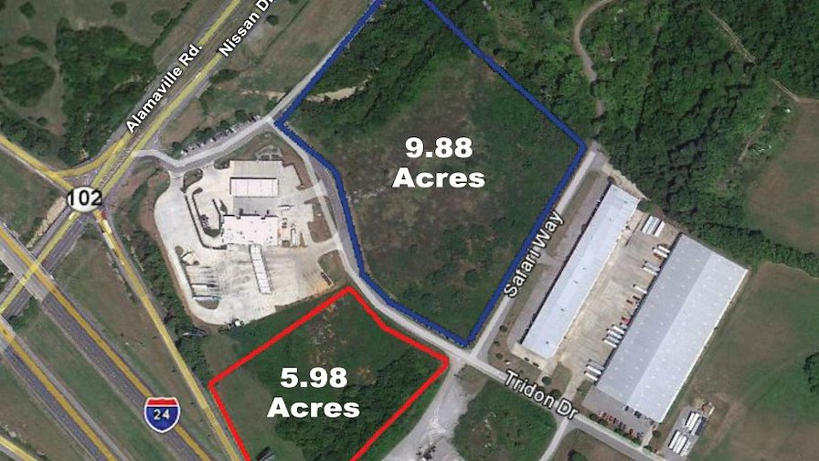 Tridon Drive - 5.98 Undeveloped Acres at Interstat