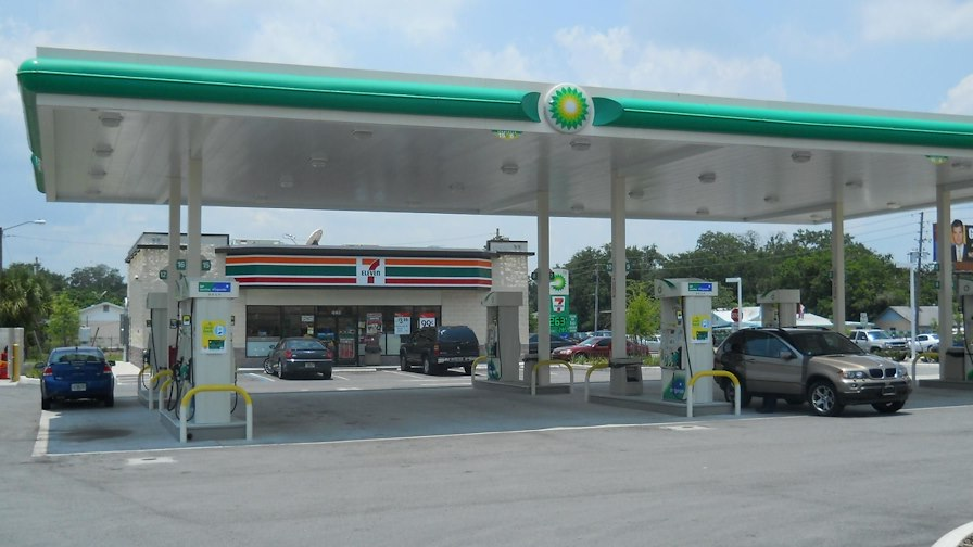 Corporate 7-Eleven Gas and Convenience Store