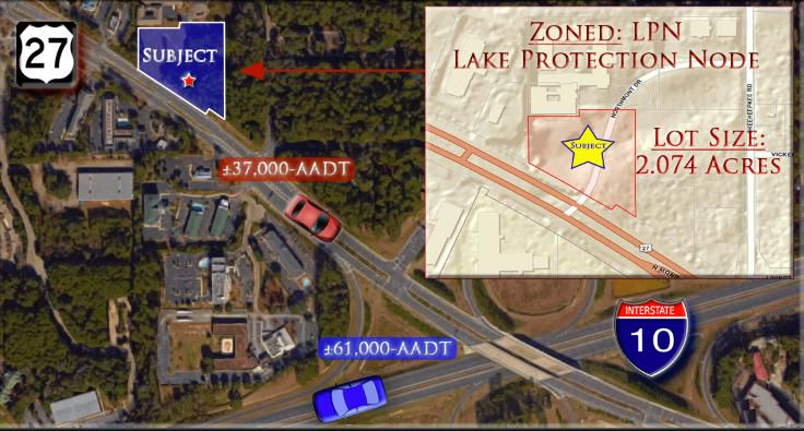 Tallahassee Commercial Development Land