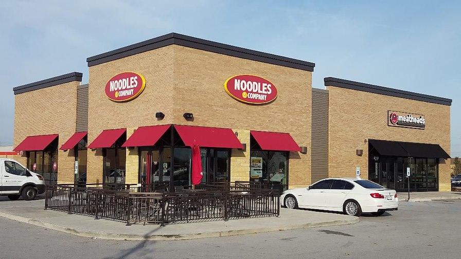 Noodles & Company  & Meatheads Burger & Fries