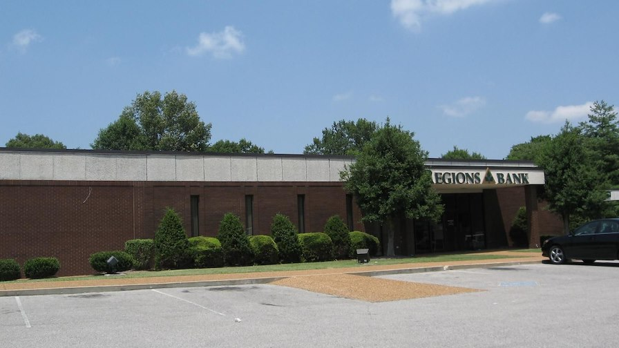 Regions Bank Anchored Office Building