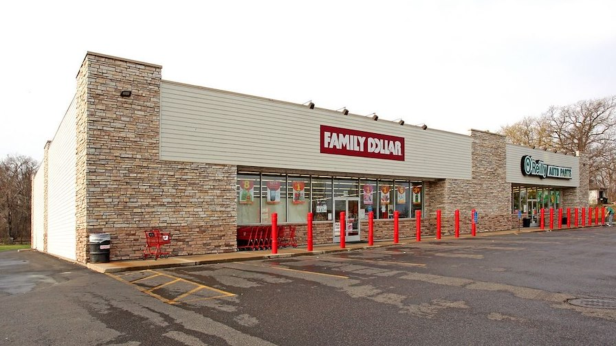 Family Dollar and O'Reilly Auto Parts