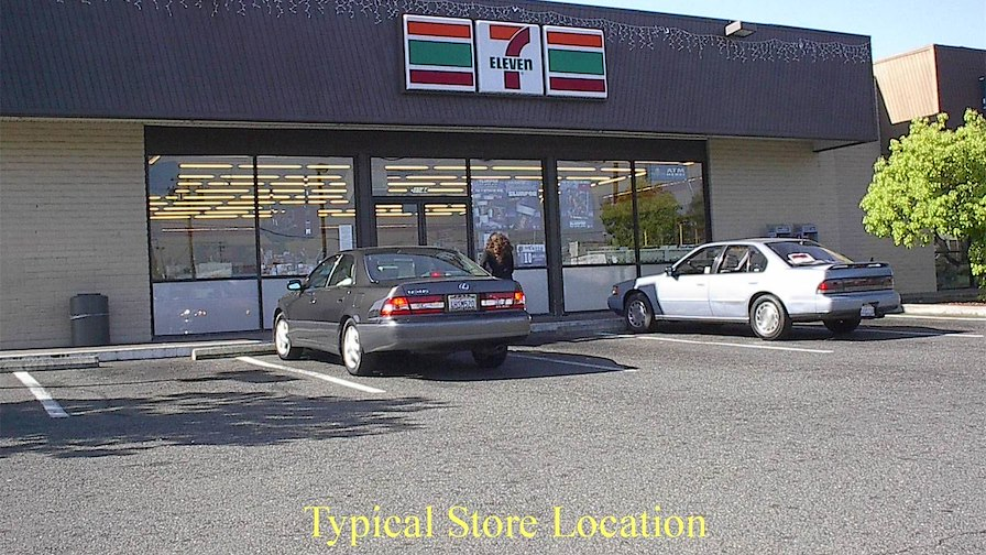 Gas Station and 7-Eleven Store