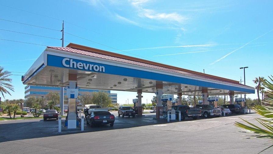 Chevron at Lake Mead Pavilion