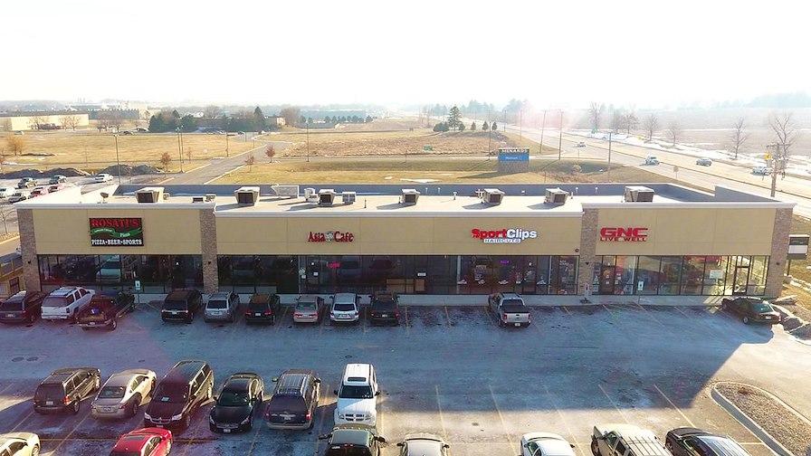 New Walmart Shadow Anchored Strip Center
