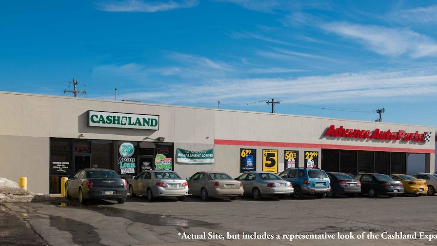 Advance Auto Parts and Cashland Strip Center
